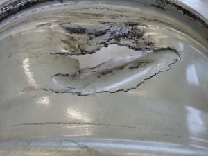 Ремонт диска сваркой в аргоне